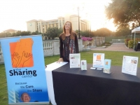 The Sharing Center's Booth