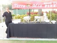 Terra Mia Brick Oven Pizza Booth