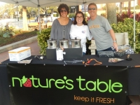 Keeping it FRESH at Nature's Table Booth
