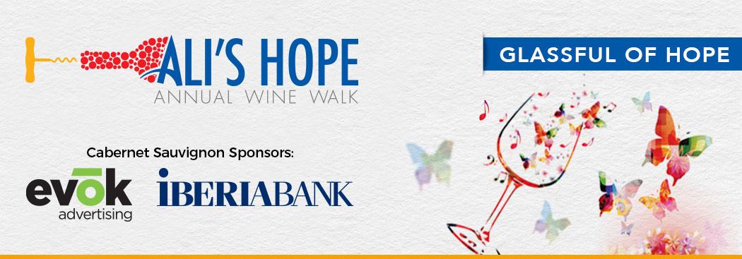 Ali's Hope Foundation Wine Walk